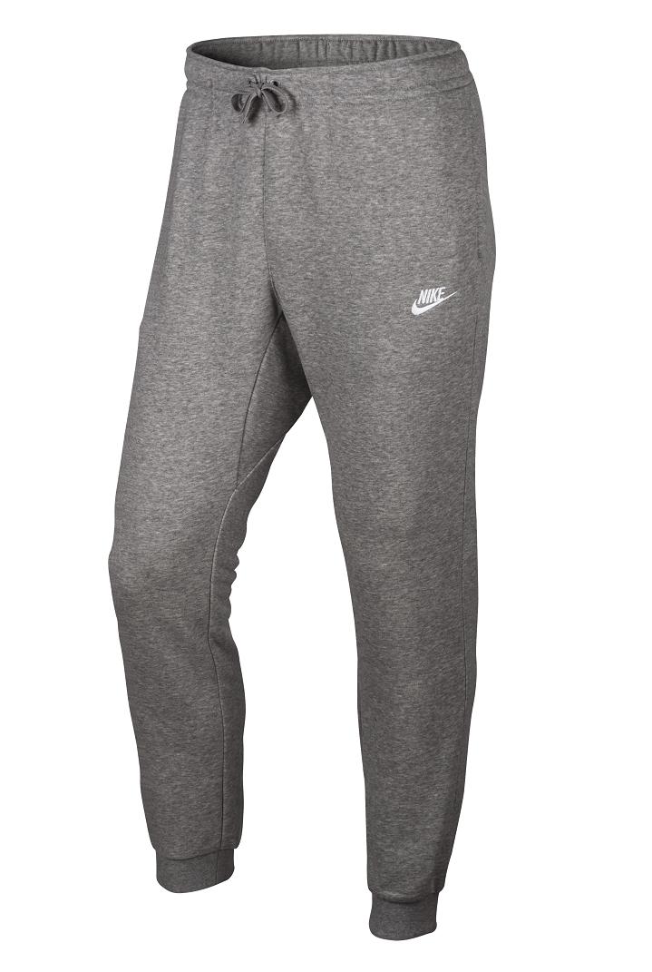 Grijze Joggingbroek.Nike Ft Club Fleece Joggingbroek Heren Grijs Hardlopen Com