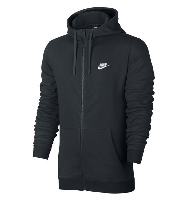 Nike FT Club Fleece vest heren zwart