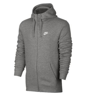 Nike FT Club vest heren grijs