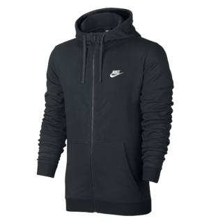 Nike FT Club vest heren zwart