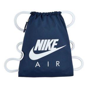 Nike Heritage gymtasje blauw/wit