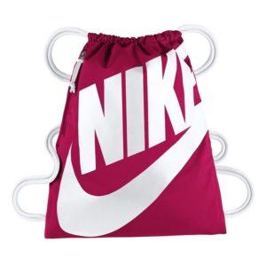 Nike Heritage nylon tasje roze/wit