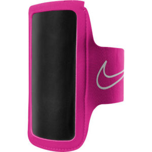 Nike Lightweight Arm Band 2.0 phone houder roze/zilver