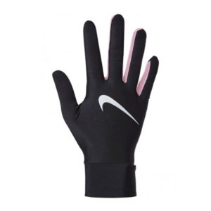 Nike Lightweight Tech hardloophandschoenen dames zwart/roze