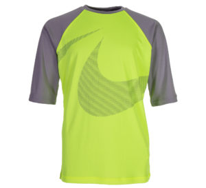 Nike Macro Swoosh Half Sleeve Hydroguard