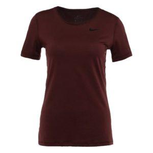 Nike Performance Pro shirt dames bordeaux rood