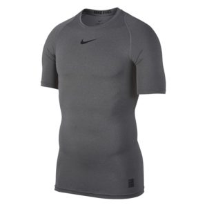 Nike Pro Compression SS thermoshirt heren grijs