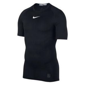 Nike Pro Compression SS thermoshirt heren zwart/wit