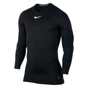 Nike Pro Warm Compression LS thermoshirt heren zwart
