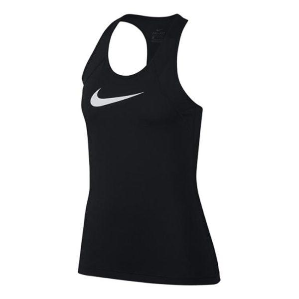 Nike Pro all over mesh tanktop dames zwart