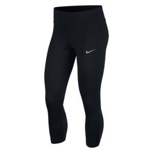 Nike Racer Crop hardlooptight dames zwart