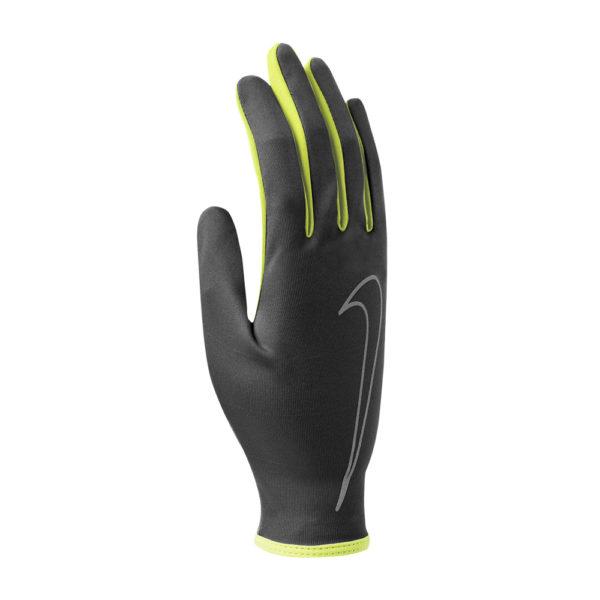 Nike Rally hardloophandschoenen zwart/geel heren