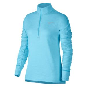 Nike Therma Sphere Element hardloopsweater dames lichtblauw