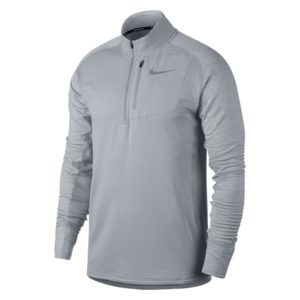 Nike Therma Sphere hardloopsweater heren grijs