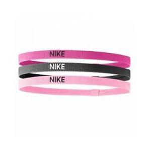 Nike elastische 3-pack haarbanden unisex roze
