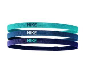 Nike elastische haarbanden 3 stuks blauw