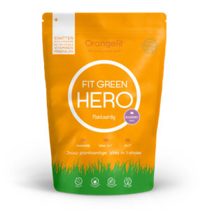 Orangefit Fit Green Hero Blueberry 850gr