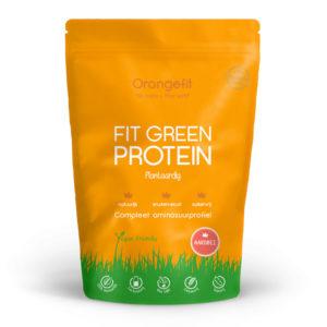 Orangefit Fit Green Protein Aardbei 450gr