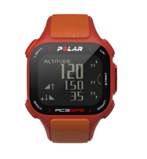 Polar RC3 GPS hartslagmeter oranje/zwart