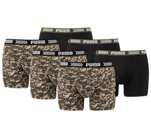 Puma Basic Abstract Boxershorts (6-pack)