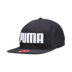 Puma Flatbrim cap unisex zwart/wit