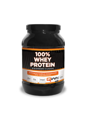 Qwin 100% Whey Protein 700g Strawberry