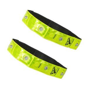 Rucano reflecterende armbanden geel