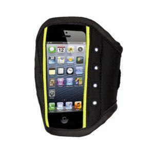 Rucanor LED smartphone houder zwart/geel