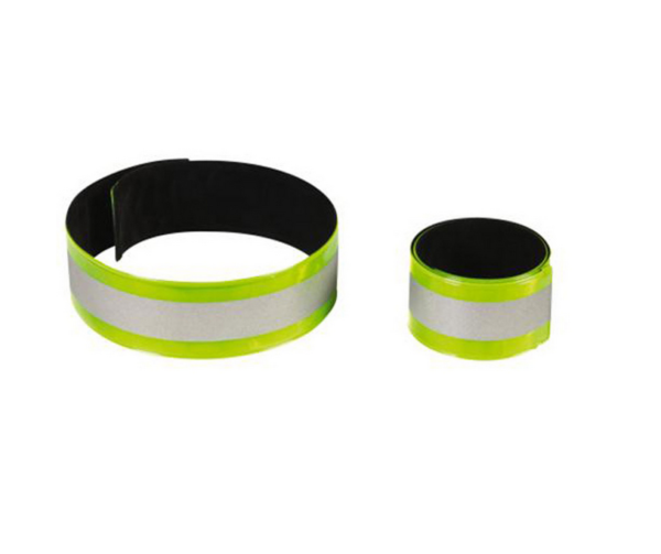 Rucanor reflecterende snap armband