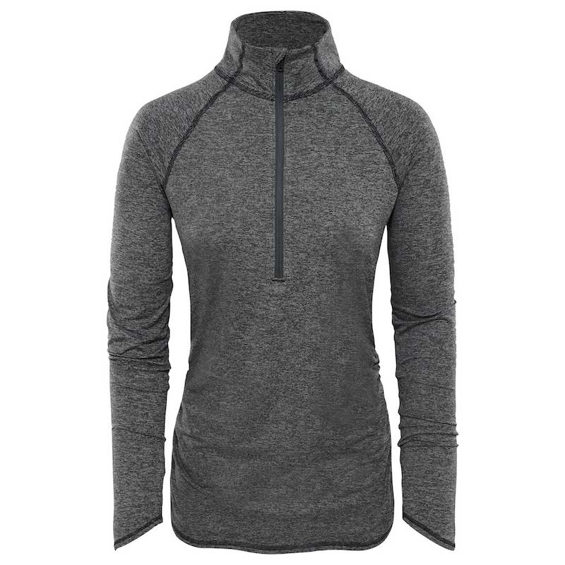 The North Face Motivation Stripe 12 Zip Shirt Dames