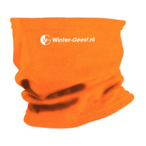 Winter-Geest fleece col oranje