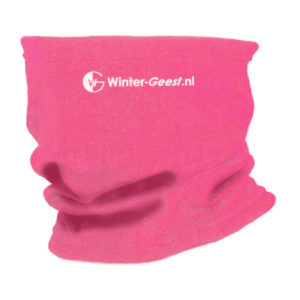 Winter-Geest fleece col roze