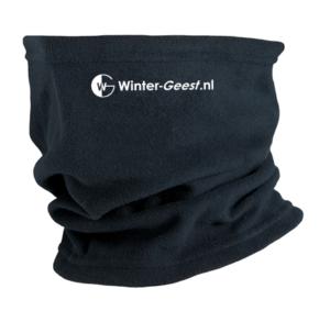 Winter-Geest fleece col zwart