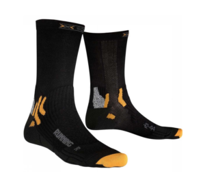 X-Socks Running Mid Calf hardloopsokken heren zwart