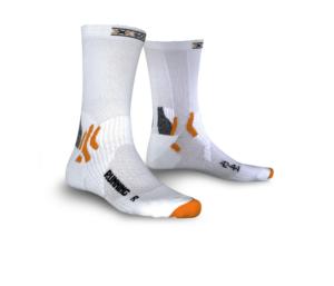 X-Socks Running Mid Calf sokken wit unisex