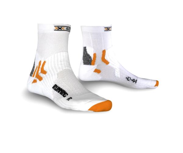 X-Socks Running short sokken wit unisex