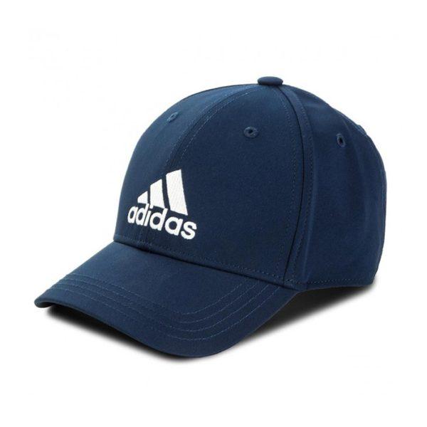 adidas 6 Panel Lightweight cap marine/wit