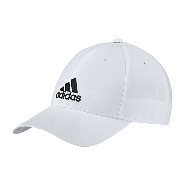 adidas 6 Panel Lightweight cap wit/zwart