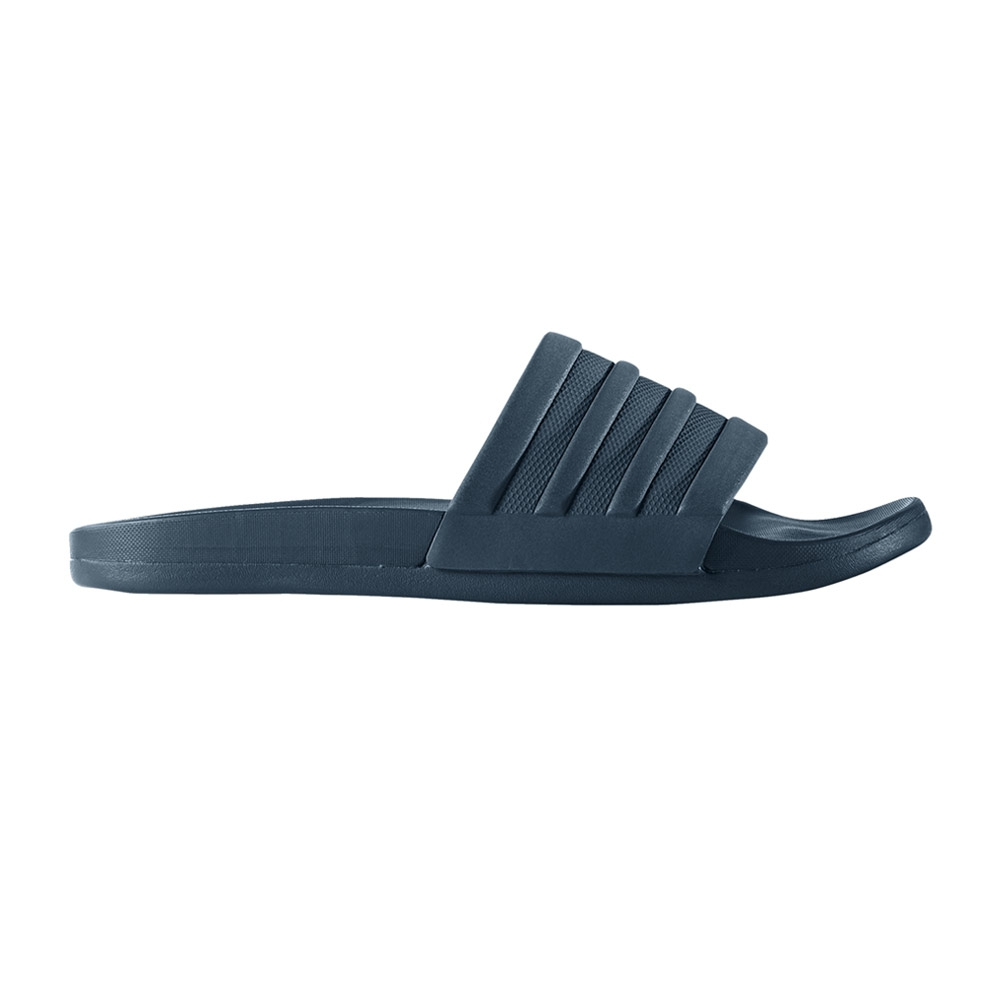 adidas Adilette Cloudfoam + slippers blauw