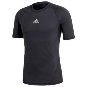 adidas AlphaSkin SS thermoshirt heren zwart