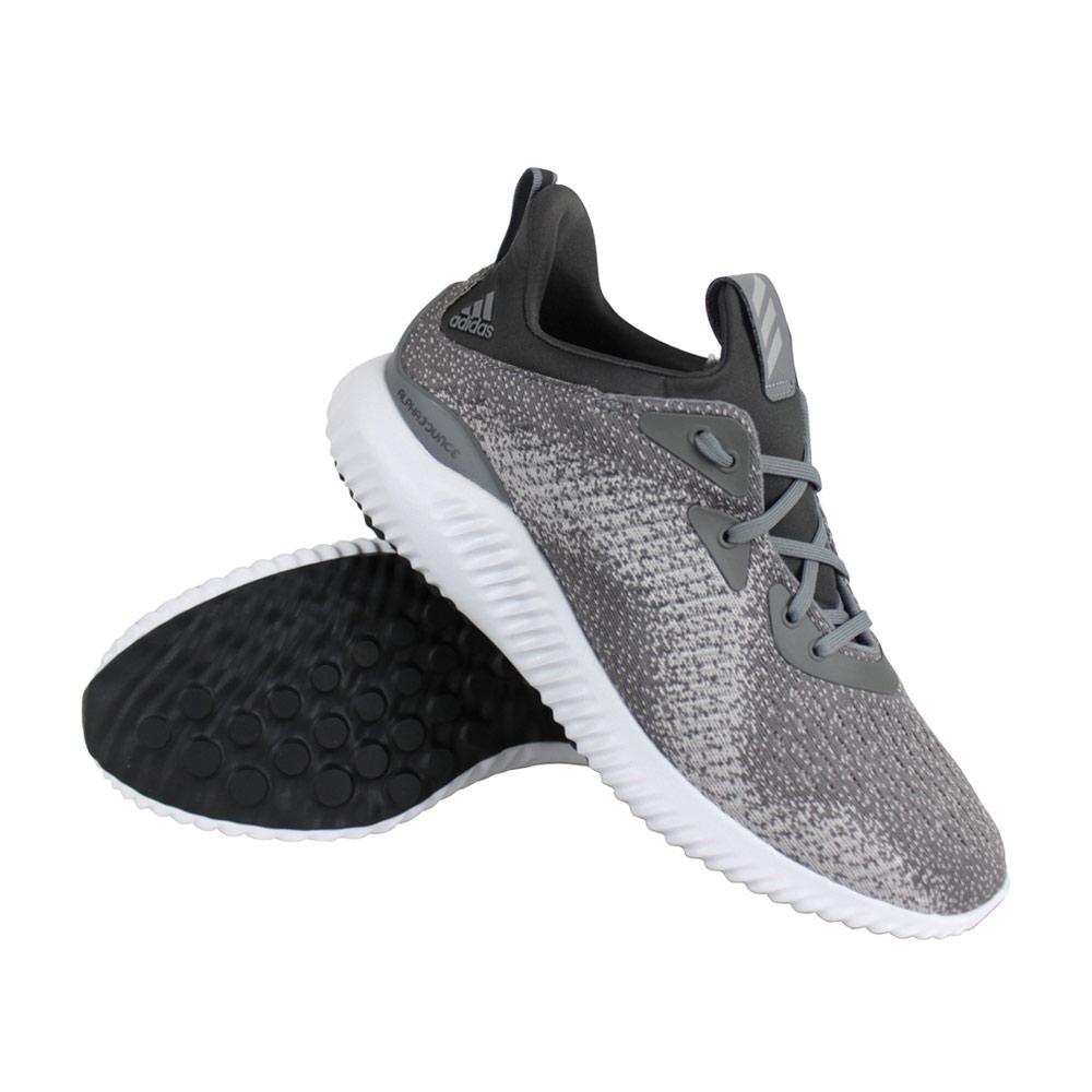 adidas Alphabounce schoenen heren grijs/wit