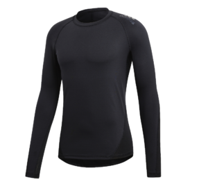 adidas Alphaskin LS thermoshirt heren zwart