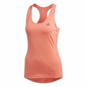 adidas Alphaskin tank top dames rood/oranje