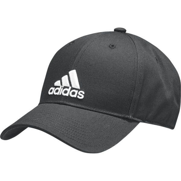 adidas Classic Six-Panel cap zwart/wit