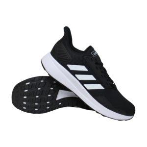 adidas Duramo 9 hardloopschoenen heren zwart/wit