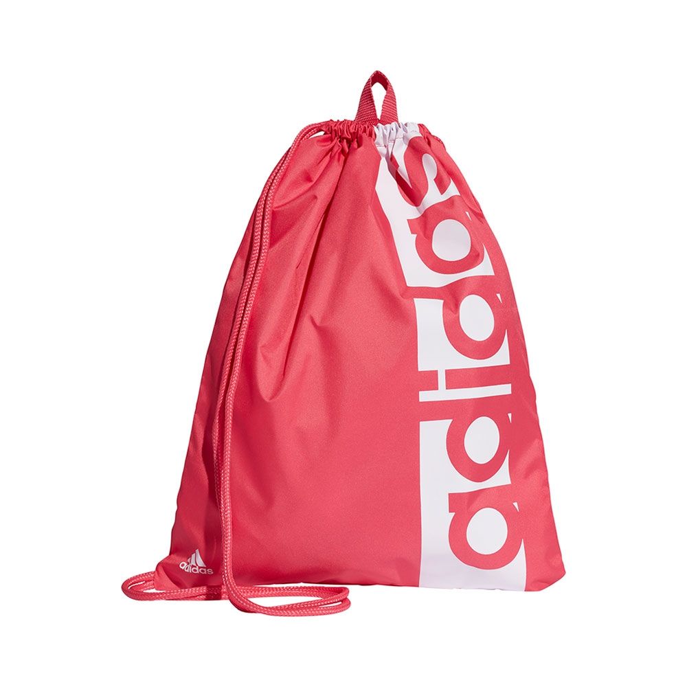 8a48aa8fcfd adidas Linear Performance gymtasje roze/wit – Hardlopen.com