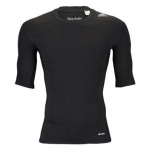 adidas TF Base SS thermoshirt heren zwart