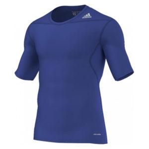 adidas Techfit Base SS thermoshirt heren kobalt
