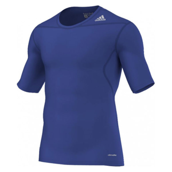 adidas Techfit Base SS thermoshirt heren kobalt