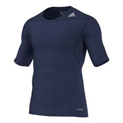 adidas Techfit Base SS thermoshirt heren marine